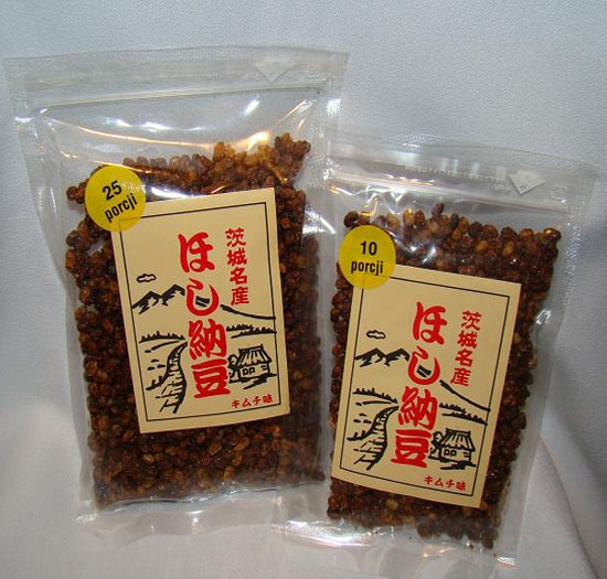 Japońska soja Natto z  kimchi 200g