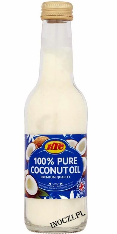 Olej kokosowy rafinowany 250 ml --50% TANIEJ