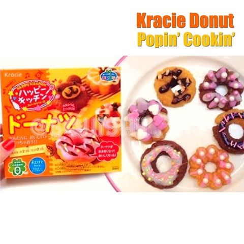 Zestaw Kracie Popin Cookin DONUTS