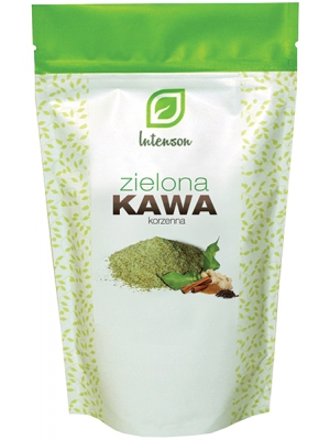 Kawa Zielona Mielona o smaku korzennym 250g