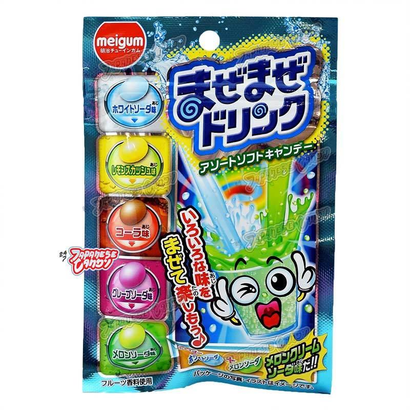 Meigum Japońskie żelki fasolki Maze Maze Drink 25g