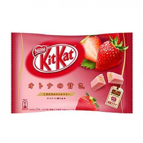 Japońskie Wafelki Kit Kat Truskawka