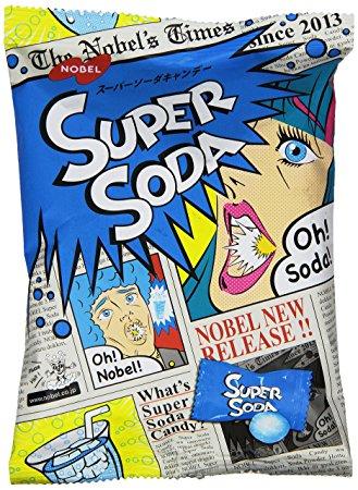 Japońskie Cukierki Ekstremalne Super Soda 88g