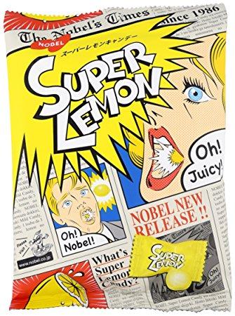 Japońskie Cukierki Ekstremalne Super Lemon 88g