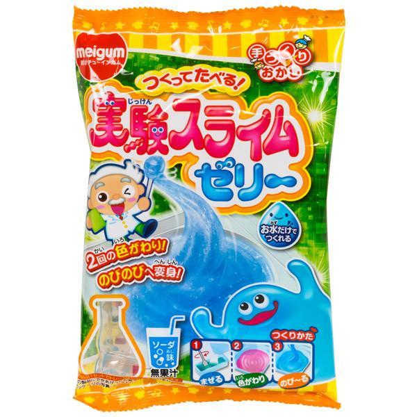 Zestaw japońskiej firmy Meiji   Jikken Slime Jelly
