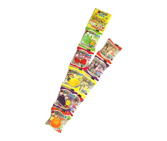 Japońskie Cukierki Ramune 10 paczuszek