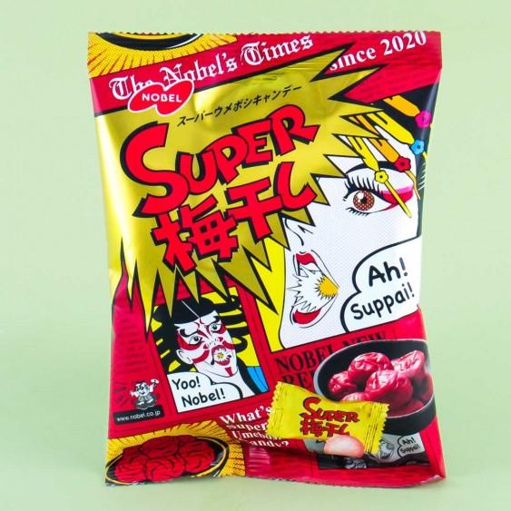 Japońskie Cukierki Ekstremalne Super  Ume  88g