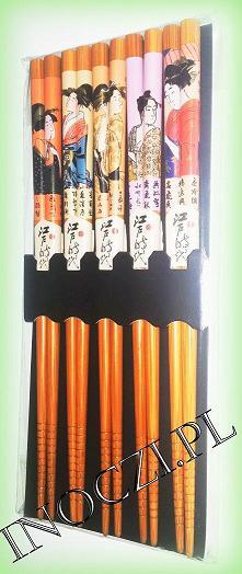 PAŁECZKI DO SUSHI (Geisha 5 kompletów)