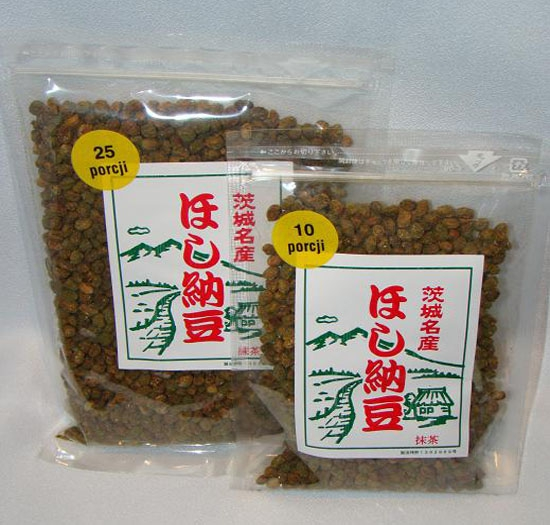Japońska soja Natto z zieloną herbatą 80g