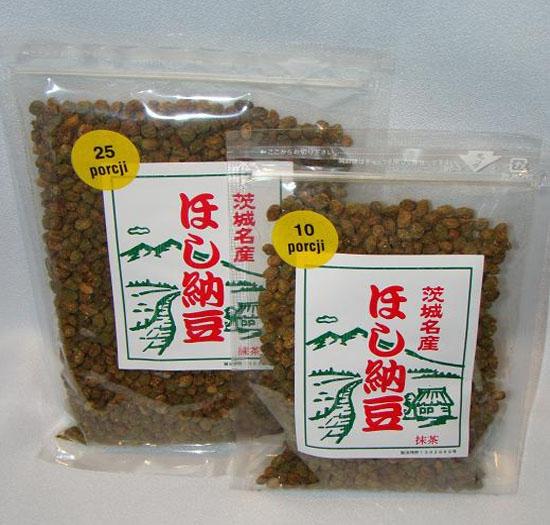 Japońska soja Natto z zieloną herbatą 200g