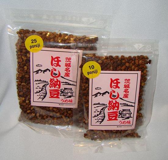 Japońska soja Natto ze śliwką umeboshi 80g-Produkt wyprzedany