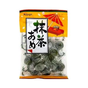 Cukierki z herbatą Matcha japońskiej firmy KASUGAI