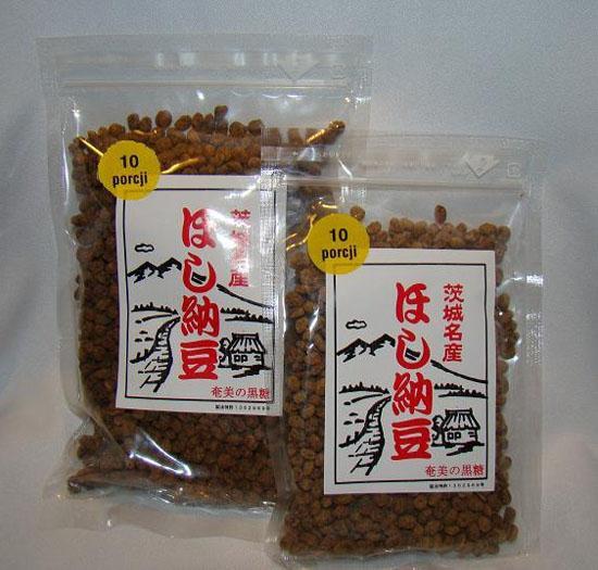 Japońska soja Natto z dodatkiem cukru trzcinowego 200g
